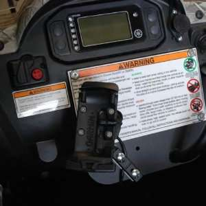 UTV Tech 710151 Dash Plate GPS Mount ONLY For 2004 11 Yamaha Rhino
