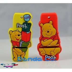 of 2gb Winnie the Pooh Style USB Flash Drive ( Red ) Electronics
