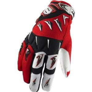 SHIFT RACING FACTION GLOVE RED MD