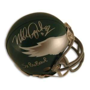 Mike Quick Autographed Philadelphia Eagles Throwback Mini