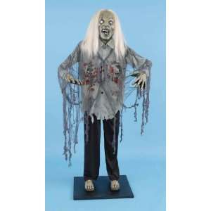 Deluxe 6 Standing Zombie Halloween Prop Decoration Toys & Games