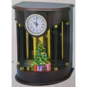 Mr. Christmas Gold Label Animated Musical Chimes Clock