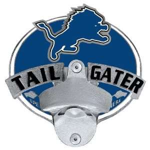 Detroit Lions NFL Tailgater Bottle Opener Hitch Cover