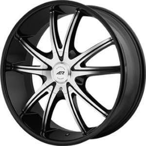 American Racing AR897 18x8 Black Wheel / Rim 5x4.5 & 5x5 with a 38mm