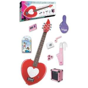 Heartbreaker Short Scale Electric Guitar Starter Pack, Red Hot Red
