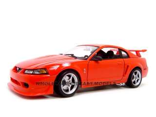 2000 FORD SVT MUSTANG COBRA R RED 118 DIECAST MODEL