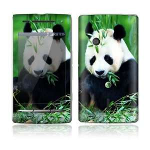 Panda Bear Design Protective Skin Decal Sticker for Sony