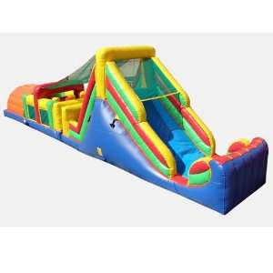 Supreme Obstacle Course Bounce House (Commercial Grade) Toys & Games