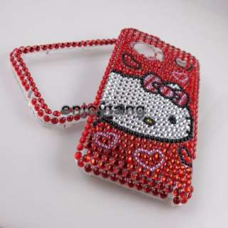 Crystal Hello Kitty case COVER for HTC Incredible 2 S G11 #1