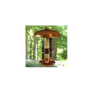 Opus Topflight Copper Triple Tube Bird Feeder