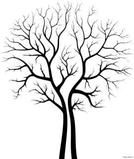 Giant Tree Vinyl Wall Art Decal Decor Mural 45