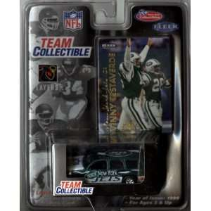 New York Jets Vinny Testaverde 1999 White Rose NFL Diecast