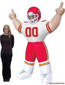 Kansas City Chiefs NFL Large 8 Ft Inflatable Football Player