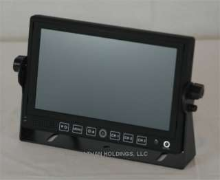 High resolution 7 C O L O R TFT LCD wide screen digital monitor
