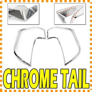 Chrome Rear Light Lamp Cover For 11 12 Kia New Picanto