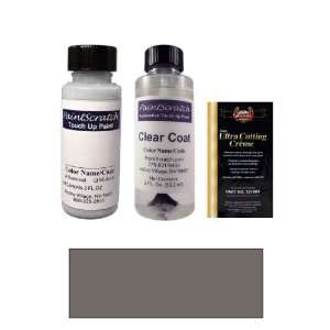 2 Oz. Galactic Gray Pearl Metallic Paint Bottle Kit for