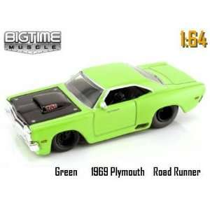 Jada Dub City Big Time Muscle Mean Green 1969 Plymouth