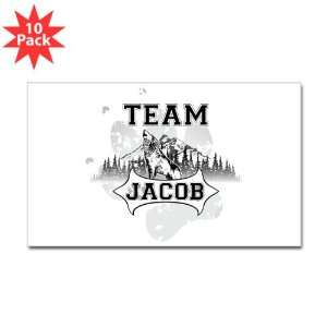 (Rectangle) (10 Pack) Twilight Wolf Team Jacob
