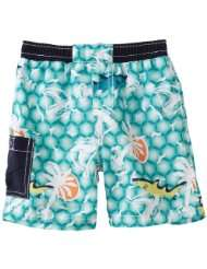 Floatimini Baby Boys Infant Emerald Sea Swim Shorts