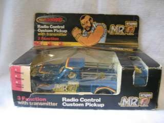 RARE vintage Remco MR.T cartoon rc car truck toy w/ BOX