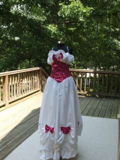 NWT NADINE $230 SOUTHERN BELLE GOWN/COSTUME SIZE 7 RUNS SMALL