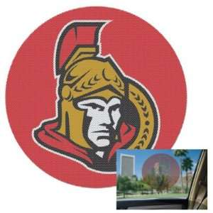 Ottawa Senators Logo Perforated Car Window Decal