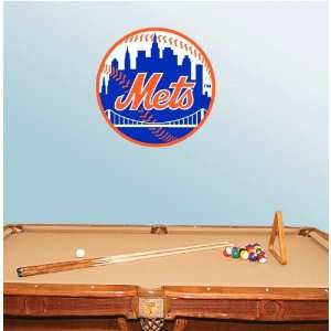 New York Mets Baseball Wall Decal 22 x 22 Everything