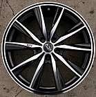 ADR INSPIRE 19 BLACK RIMS WHEELS LEXUS ES300 GS300 SC300 / 19 X 8.0