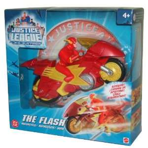 Series Action Figure Ripcord Motorcycle   THE FLASH Toys & Games