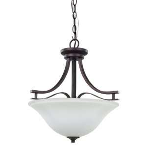 LTD. ICH367A03ORB16 London 3 Bulb Chandelier Light, Oil Rubbed Bronze