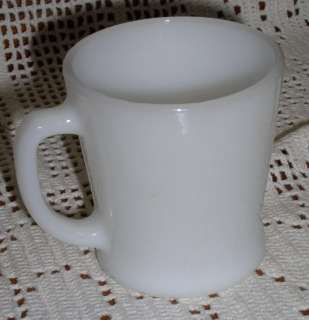 Anchor Hocking FIRE KING 8 oz. Milk White MUG