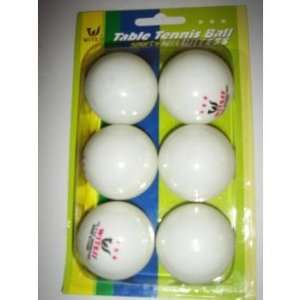 Pack Table Tennis Ping Pong Balls Case Pack 72