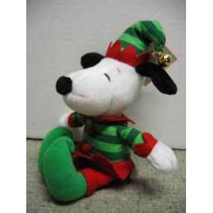 Hallmark Peanuts SNOOPY Plush JINGLE BELL ELF Toys & Games