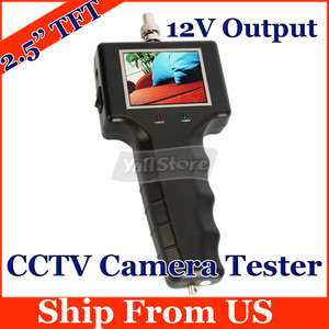 TFT LCD Monitor Security CCTV Camera Tester Detector Test DC12V
