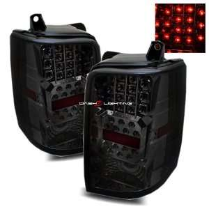 97 98 Jeep Grand Cherokee LED Tail Lights   Smoke