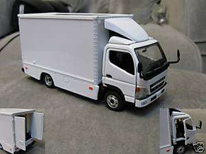 43 Mitsubishi Canter Light Duty Truck (doors opened)