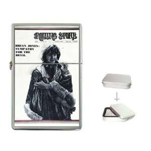 Brian Jones Rolling Stone Cover 1969 Flip Top Lighter