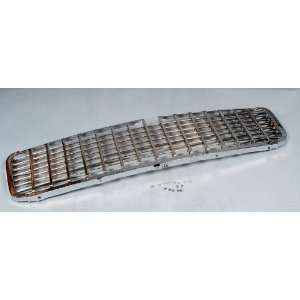 Chevy Grille Assembly, Chrome, 1955 Automotive