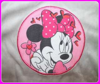 NWT Disney Minnie Mouse Girls Toddler Velour 2 pcs Outfits Size 12M