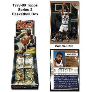 Topps 1998 99 Nba Series Two Unopened Trading Card Box