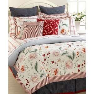 Tommy Hilfiger Cold Spring Floral Full Queen Duvet Cover
