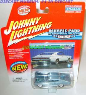 1966 66 DODGE CHARGER JOHNNY MUSCLE CARS JL DIECAST
