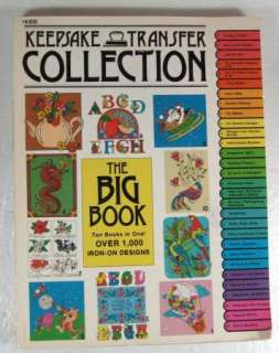 Transfers Collection THE BIG BOOK 1,000 Iron On Transfers