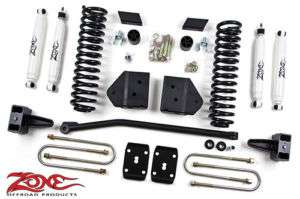 Zone 4 Suspension System Lift Kit 2011 Ford SD 4WD