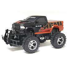 New Bright 115 Scale Dodge Ram Hemi Radio Control Truck   Orange