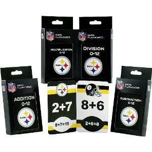 Pittsburgh Steelers Math Pack Flash Cards