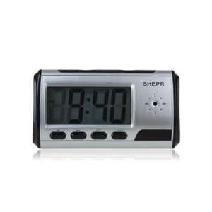 Digital Alarm Clock with Hidden Camera   FREE 32GB Card Camera