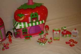 Strawberry Shortcake Lot Doll Clothes Berry Cafe House Food Boutique