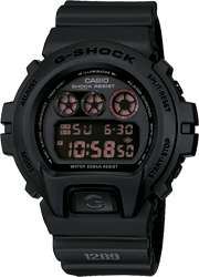 CASIO G SHOCK, RED EYE, DW 6900MS 1DR, 3230, MILITARY ARMY BLACK, FREE