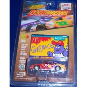 Johnny Lightning Racing Dreams # 59 McDonalds Grimace Toys & Games